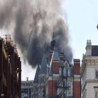 أكثر من 100 عربة إطفاء تُشارك في مُحاولة إخماد حريق وسط العاصمة البريطانية