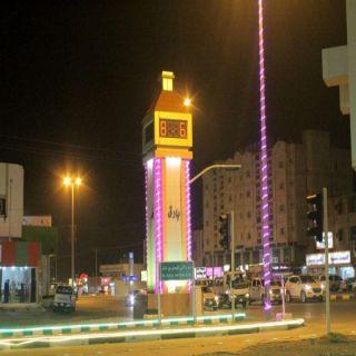 شاهد بالصور - استعدادات بلدية #بارق لإستقبال عيد الفطر المُبارك