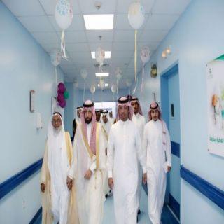 وكيل محافظة محايل يؤدي صلاة العيد ويزور المرضى بالمستشفى العام ...