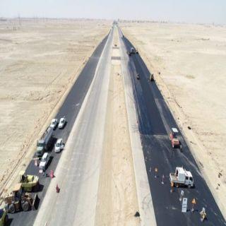 #بلدية_عنيزة تختتم أعمال طريق الملك عبدالله خلال شهر
