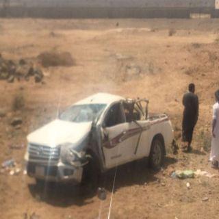 وفاة وأربع إصابات لعائلة بحادث سير في جرب #الباحة