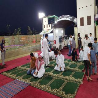 هيئة #الباحة تستقبل المصطافين بمصليات متنقلة في المنتزهات والخدائق