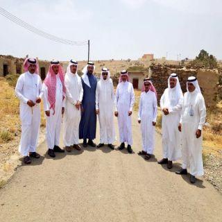 المجلس البلدي و رئيس بلدية بللحمر يتفقدون مشاريع البلدية