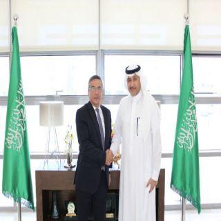 سمو سفير المملكة لدى الأردن يستقبل سفير جمهورية أذربيجان المعين حديثا في عمّان