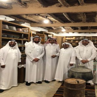 """وزير الصحة """"الربيعة"""" يزور متحف ومحمية الراجحي في #البكيرية"""