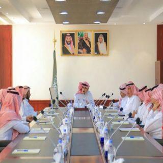 محافظ البكيرية يعقد الأجتماع الدوري الثاني لرؤساء المراكز