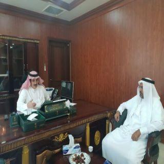 محافظ #المجاردة يستقبل المشرف العام على فرع جامعة الملك خالد بتهامة