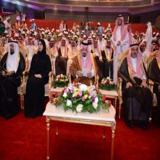 أمير عسير يرعى حفل تتويج الفائزين في الأولمبياد الوطني الأول لجمعيات أيتام المملكة