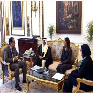 """رئيس الوزراء المصري يلتقي رئيس مجموعة """"البترجي الطبية"""""""