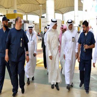 نائب وزير الصحة يتفقد المرافق الصحية بمحافظة جدة