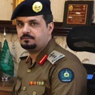 الشهراني إلى رتبة عقيد مُديراً لمكتب مدير الدفاع المدني بعسير