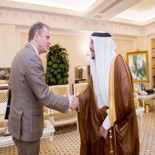 أمير القصيم يستقبل السفير الهولندي لدى المملكة