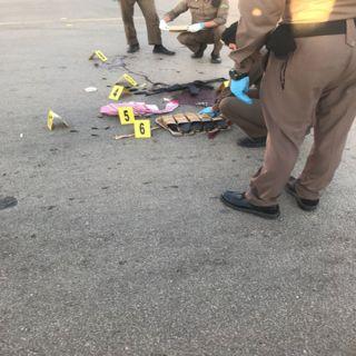 """الجهات الأمنية تقبض على المواطن """"فواز الحربي """"بعد تبادل لإطلاق النار في #البكيرية"""