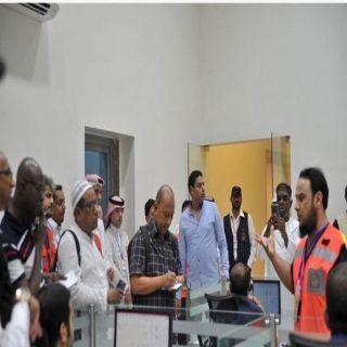 وفد إعلامي دولي يطلع على الخدمات الإسعافية التي يقدمها الهلال الأحمر للحجاج في العاصمة المقدسة