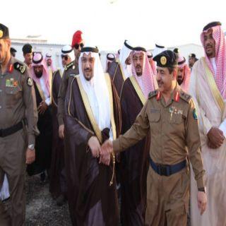 أمير القصيم يتفقد مركز الدفاع المدني بمدينة الحجاج