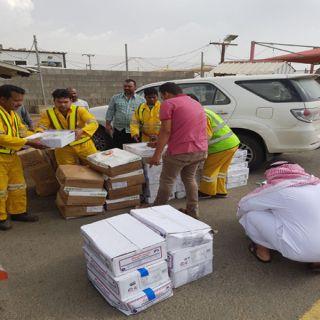 بالصور - بلاغ أمني يكشف 636 كجم من اللحوم الفاسدة في #عسير