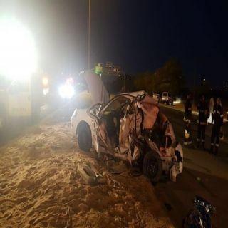 (3) وفيات وإصابات متفرقة في حادثين سير في #القصيم