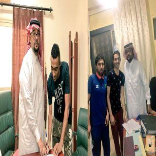 نادي جرش ينهي أول صفقتين مع اللاعبين عبدالقادر عادلي وحسن عسيري