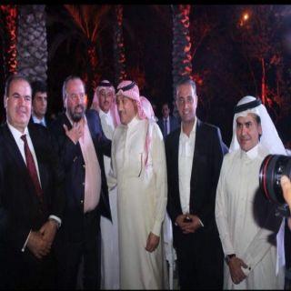 سفير خادم الحرمين الشريفين لدى الأردن يعزي أسرة الإعلامي الاردني سعد السيلاوي.