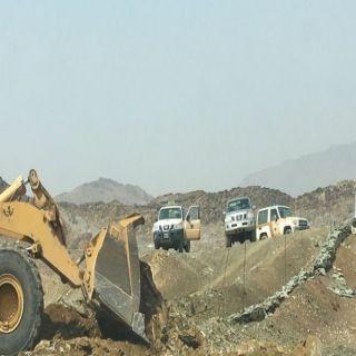 بلدية #محايل تستعيد أكثر من (680.00. م٢) أراضي تعديات