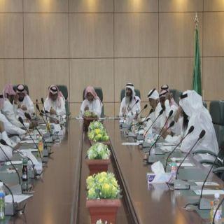 اعضاء جمعية البر بـ #بارق يعقدون الإجتماع العمومي للجمعية