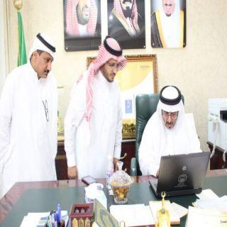 ال شريم يترأس إجتماع لجنة الإحتفال باليوم الوطني ويدشن المنصة الإعلامية