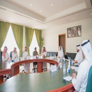 وكيل إمارة القصيم يترأس اجتماع اللجنة التنفيذية لبرنامج التوطين الموجه بالمنطقة