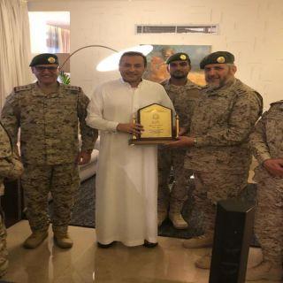 سفير خادم الحرمين الشريفين لدى #الأردن يستقبل مدير عام الإدارة العامة للشؤون الدينية للقوات المسلحة السعودية