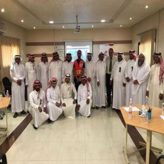 هلال #الباحة يُنفذ عدة دورات تدريبية في الإسعافات الأولية لمنسوبي تعليم المنطقة