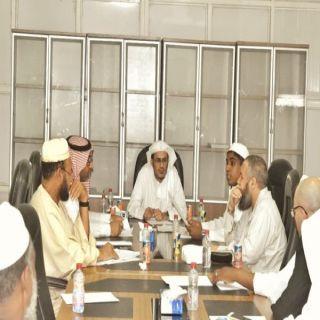 رئيس قسم الشريعة بتهامة يرعى جلسته البحثية الخامسة في #محايل