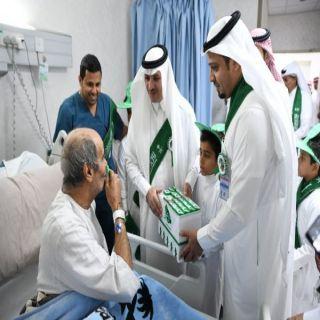 محافظ #عنيزة يرعى احتفالات مستشفى الملك سعود بـ #اليوم_الوطني_88