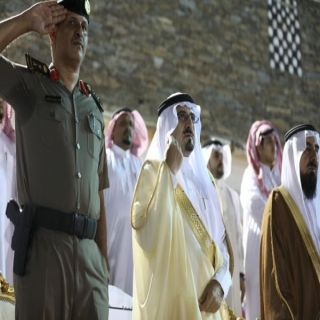 برعاية المحافظ .. بلدية رجال ألمع تقيم إحتفالات #اليوم_الوطني_88 بالقرية التراثية