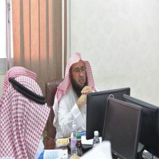 مدير عام فرع هيئة #لباحة يجتمع برؤساء هيئات المنطقة