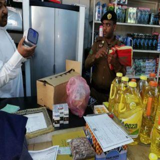 مكافحة التبغ في #الباحة تٌنفذ 6 جولات بلغت قيمة مخالفتها 15000 ريال