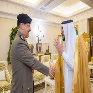 أمير القصيم يستقبل مدير عام السجون بالمملكة اللواء محمد الأسمري