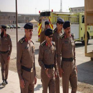 مُدير مدني القصيم اللواء الصالح يتفقد مركز تدريب الدفاع المدني