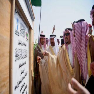 أمير القصيم يفتتح طريق الملك عبدالله بـ #عنيزة
