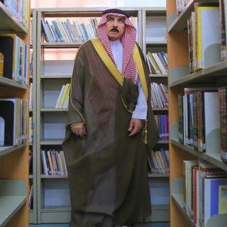 محافظ #البكيرية يزور المكتبة العامة بالمحافظة ويؤكد أهميته وجودها