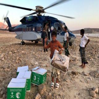 """السعودية تواصل أعمال الإغاثة الإنسانية لمتضرري """"إعصارلبان """" في اليمن"""
