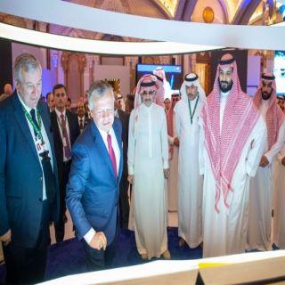 ملك الأردُن يصل الرياض لحضور مُؤتمر مبادرة مستقبل الاستثمار 2018