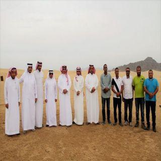 مدير عام المياه في الباحة يقوم بجولة يتفقد مشاريع المياه في #قلوة