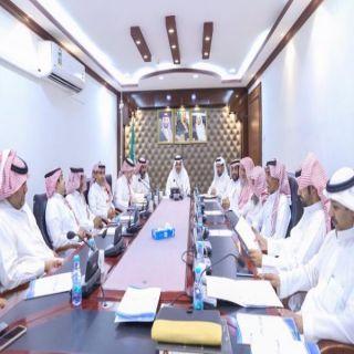 مدير #تعليم_البكيرية يرأس اجتماع المجلس التعليمي