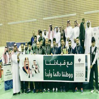 #جامعة_الامام_الفيصل تحقق التميز الرياضي الجامعي