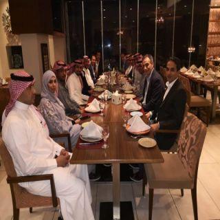 سفارة المملكة في #الأردن تحتفي بالوفد السعودي المشارك بقمة الصُلْب العربية الـ 13.