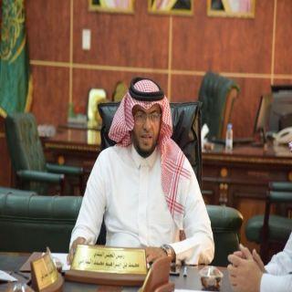 بلدي #بارق يشكرون معالي وزير الشؤون البلدية وأمين عسير