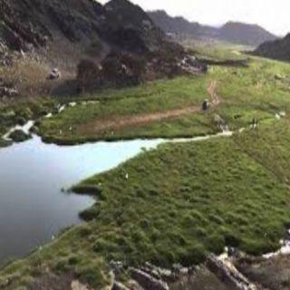 شاهد جمال وادي الخير في #بارق يستهوي عدسات مُصوري الطبيعة