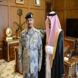 أمير عسير يُقلد مُدير حرس الحدود في المنطقة رتبته الجديد