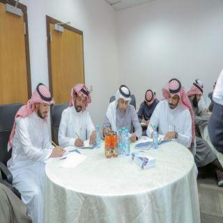 كلية التربية بـ #جامعة_القصيم تُطلق البرنامج العلمي الثالث لمعلمي المنطقة