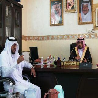 بالصور رئيس وأعضاء بلدي #بارق يزورون مركز ضحى سياله و السليم