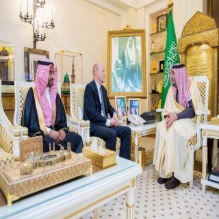 أمير #القصيم يستقبل سفير مملكة السويد لدى #المملكة